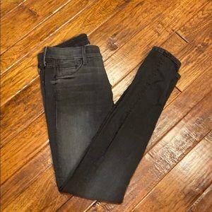 Mother Black Skinny Jeans